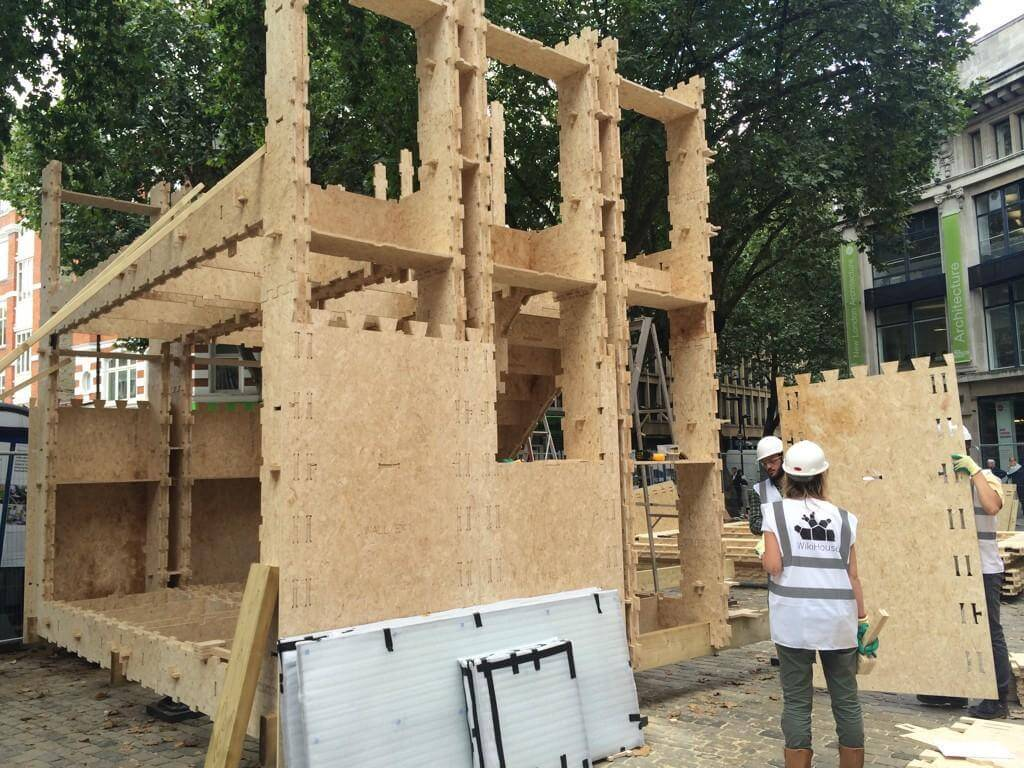 Wikihouse parts cnc cut by cut and construct for london for Tech house london