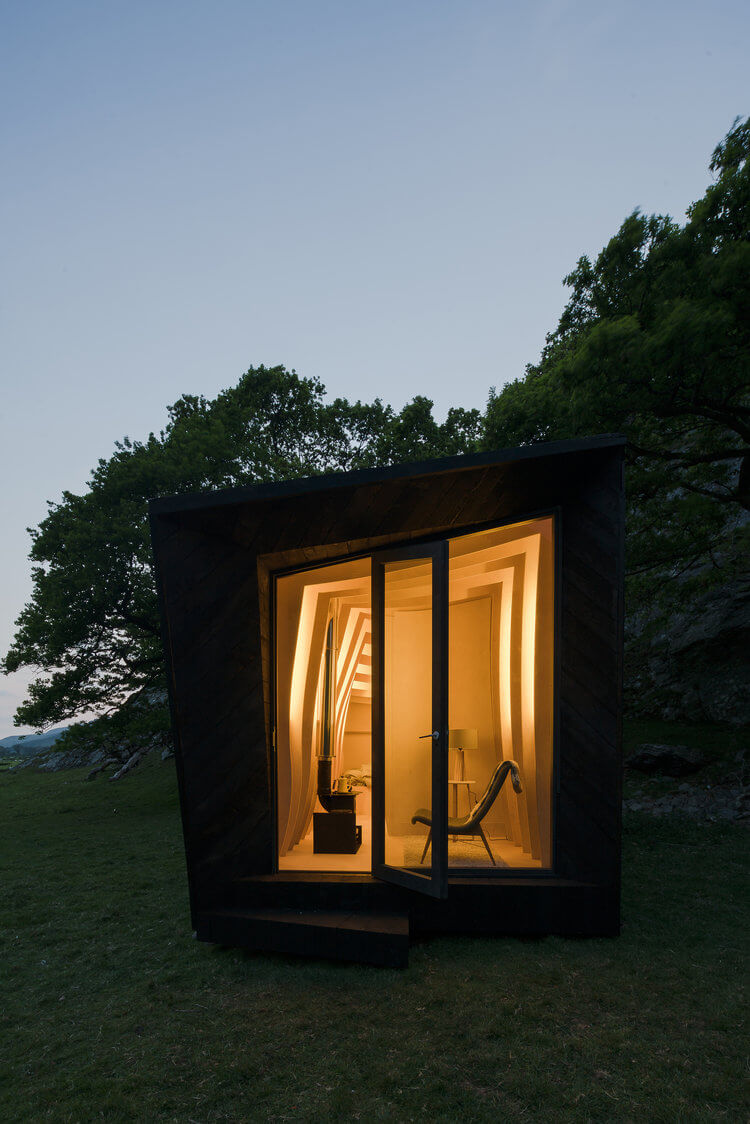 Arthur's Cave Cabin, Designed by Kendrick Miller Architects